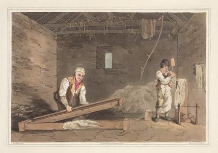 'Line Swinglers', 1814.