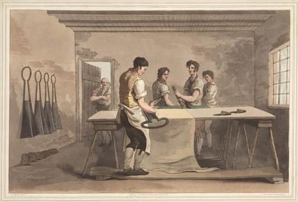 'Cloth Dresers', 1813.