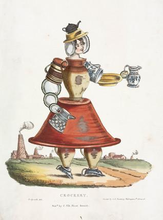 'Crockery', c 1831.