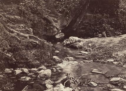 'Seven Springs, source of the Thames near Cheltenham', c 1850-1900.