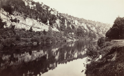 The River Wye, near Chepstow, Monmouthshire, Wales, c 1850-1900.