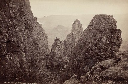 'Rocks at Quiraing, Skye', Isle of Skye, Scotland, c 1850-1900.