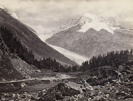 Mountain peaks, United States of America, c 1850-1900.