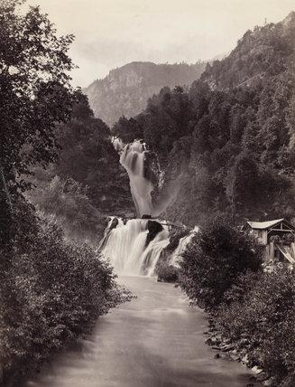 Reichenbach Falls, Switzerland, c 1850-1900.