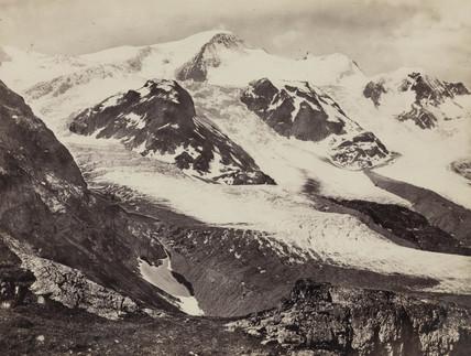 Stein Glacier, Susten Pas, Switzerland, c 1850-1900.