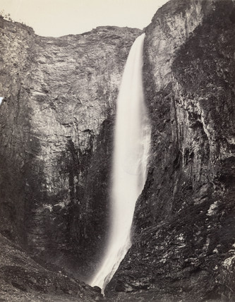 Waterfall, Norway, c 1850-1900.
