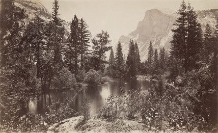 The Half Dome, Yosemite, California, USA, c 1850-1900.