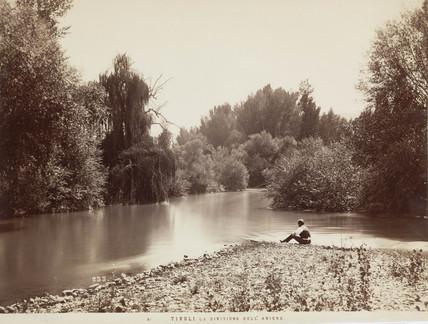 River Aniene, Tivoli, Italy, c 1850-1900.