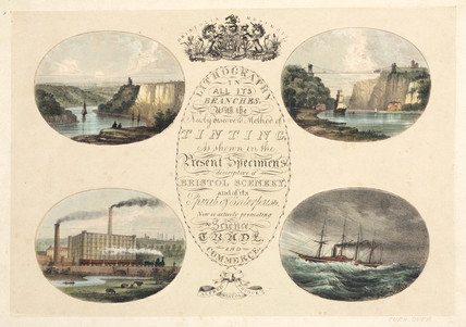 Views of Bristol, 1840.