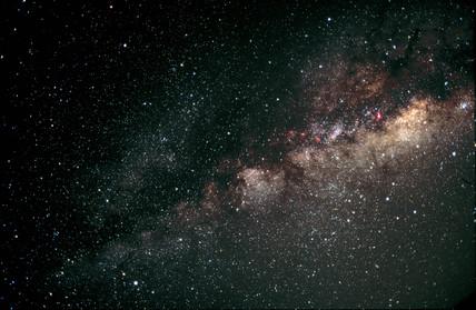 Northern Milky Way (Constellation of Sagittarius)