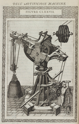 Machine for lifting very great weights with ease, 1588.