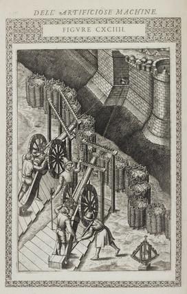 Method for firing artillery at night, 1588.