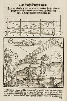 Perspective and the use of lenses, 1548.