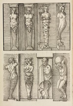 Architectural ornaments, 1548.