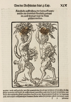 Two satyrs, 1548.