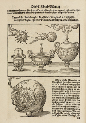 Fireballs, cannon balls and comets, 1548.