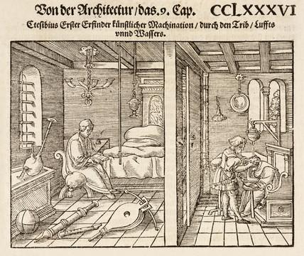 Domestic scenes, 1548.