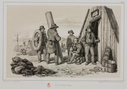 German miners, c 1851.