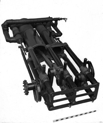 Engine from Maxim's flying machine, 1894
