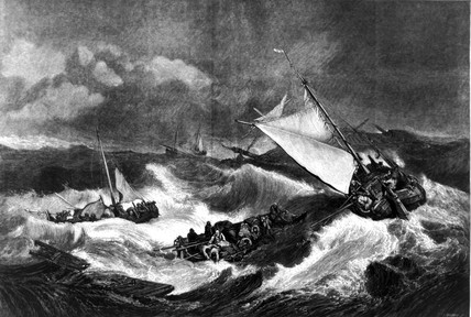 'The Shipwreck', 1805.