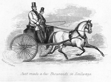 'Just made a few Thousands in Railways?', 1845.
