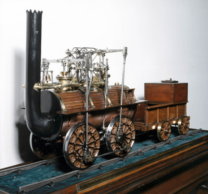 Steam locomotive No 1, 'Locomotion', 1825.