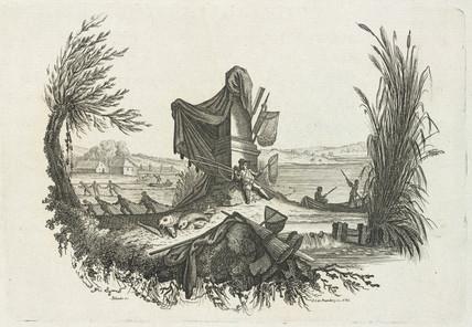 Fishermen and equipment, 1785-1788.