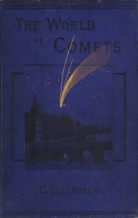 Donati's comet over Paris, 1858.