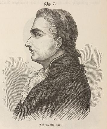 Luigi Galvani, Italian physiologist, c 1760s.