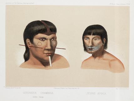 Two South American Indians, c 1843-1847.