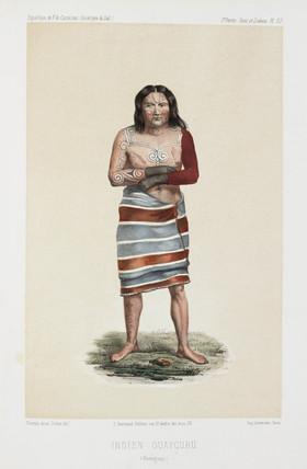 Guaycuru Indian, Paraguay, c 1843-1847.