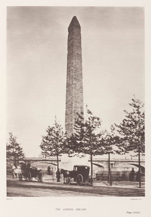 'The London Obelisk', Westminster, c 1878-1882.