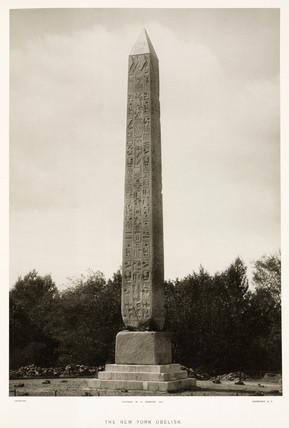 'The New York Obelisk', USA, c 1880s.