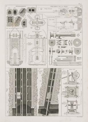 Boring equipment, 1819.