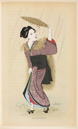 Country woman, Japan, 1867.