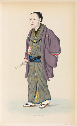 Merchant, Japan, 1867.