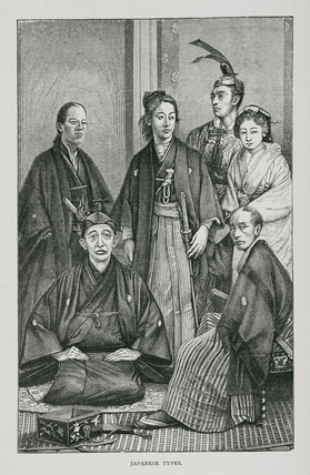 'Japanese types', 1888.