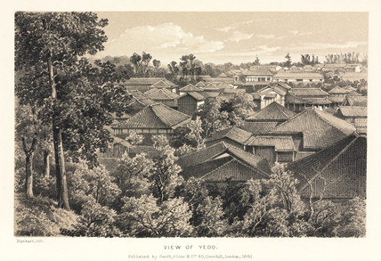 'View of Yedo', Japan, 1858.