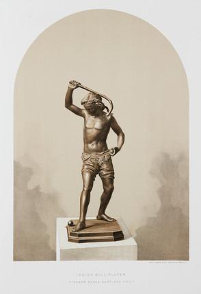 'Indian Ball-Player', 1876.