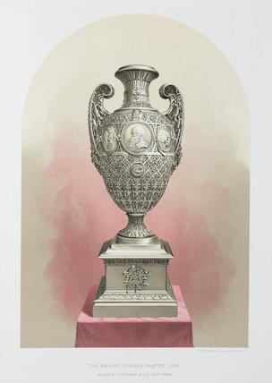 'The Bryant Commemorative Vase', 1874.
