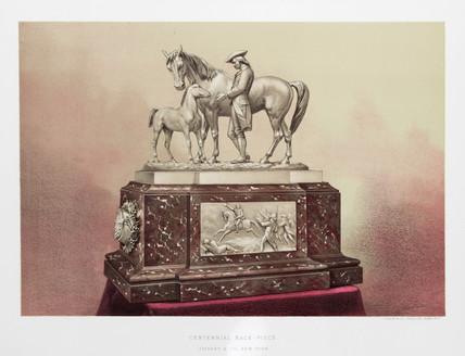 'Centennial Race Piece', 1876.