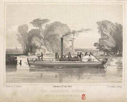 The 'Charlotte Dundas', 1803.