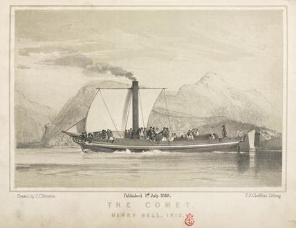 The 'Comet', 1812.