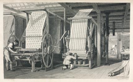 Calico printing, 1835.