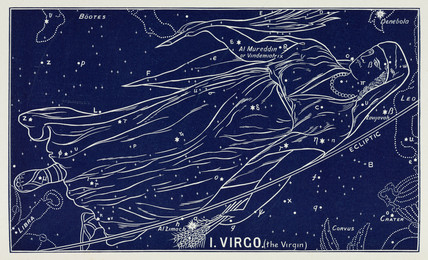 The constellation of Virgo, 1895.