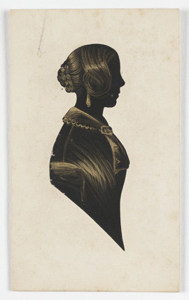 Silhouette of Catherine Dodds Grey, c 1840