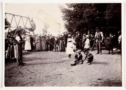 Skipping at a fair, 1898.
