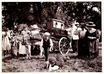 Barrel organ, 1898.