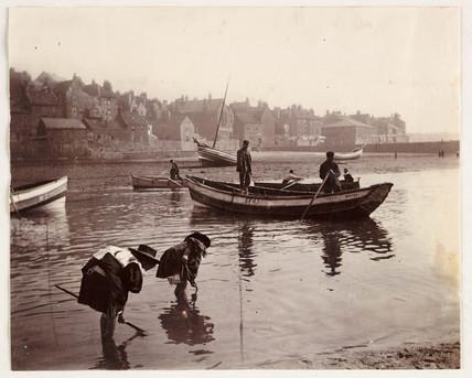 The water's edge, c 1905.