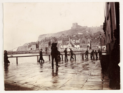Whitby Harbour, c 1905.